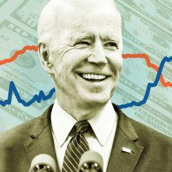 La victoria de Biden empujó las bolsas en alza.  | Foto:CEDOC