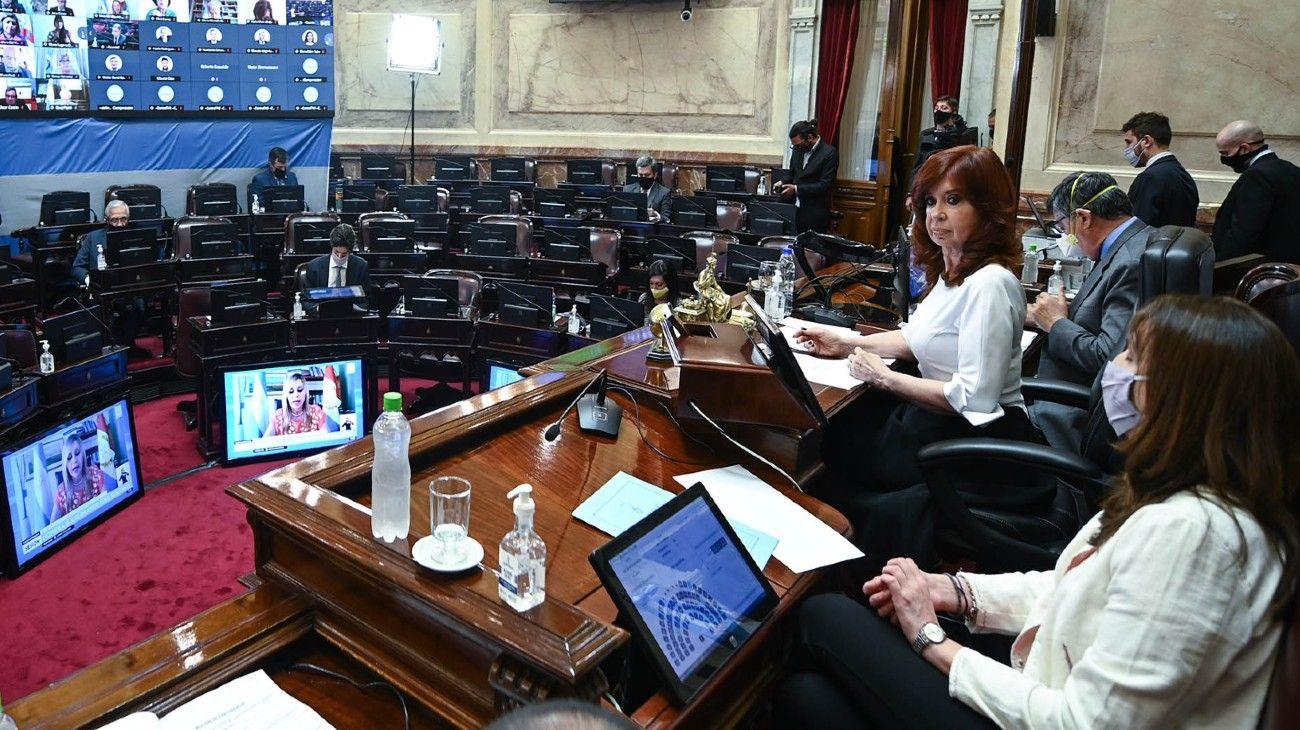 El presupuesto 2021 se debatió en el Senado