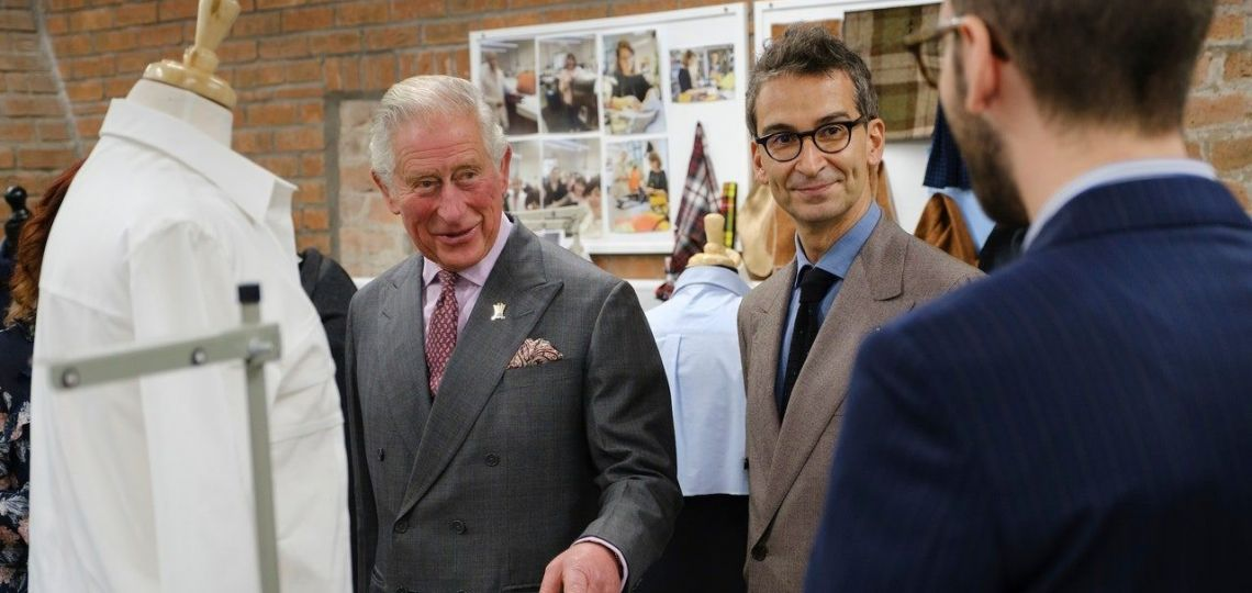 Mirá la nueva colección de ropa del Príncipe Carlos