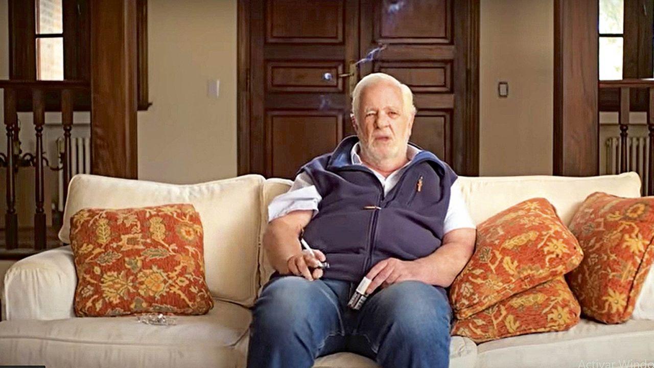 Carlos Carrascosa en una escena del documental Carmel: ¿quién mató a María Marta? | Foto:Captura de pantalla