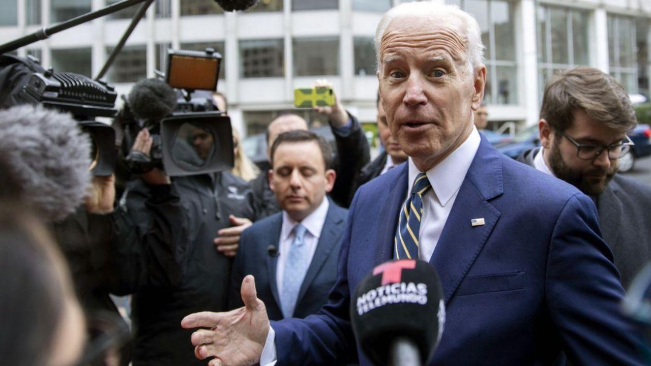 Joe Biden, bendecido por los grandes medios.  | Foto:CEDOC