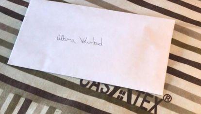 Encontraron dos cartas en la casa del femicida de Tucumán