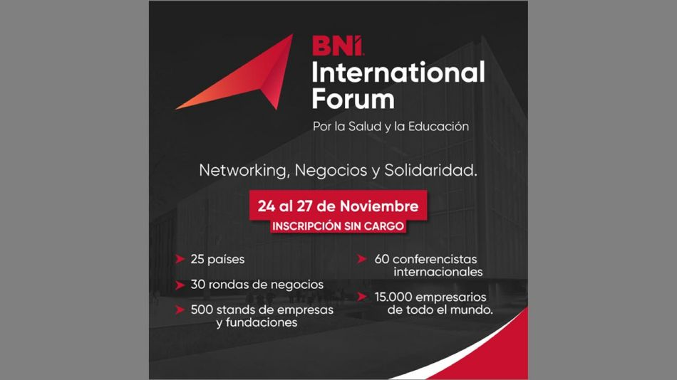 BNI INTERNATIONAL FORUM 20201113