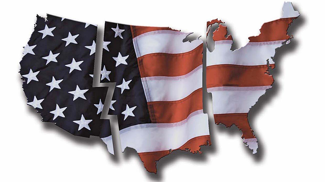 Grieta en Estados Unidos.