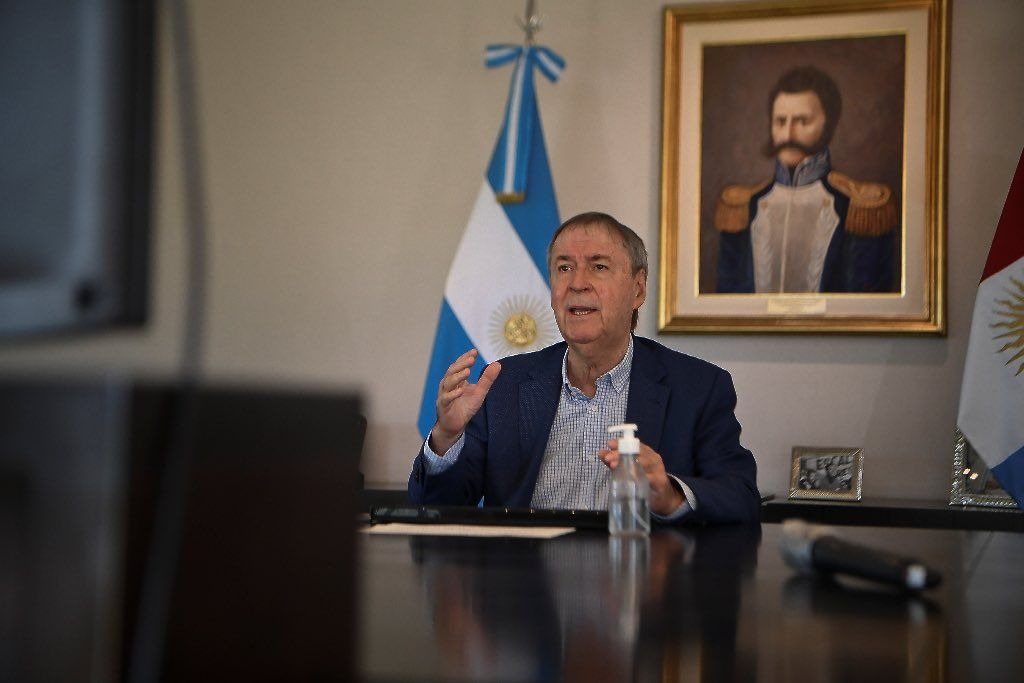 RELANZAMIENTO. Schiaretti apunta a una nueva normalidad después de las elecciones en Río Cuarto. Se vienen dos semanas clave.