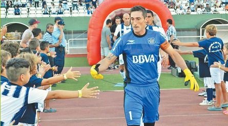 HOY. Titular en Talleres y con buen nivel, pese a la llegada de Marcos Díaz.