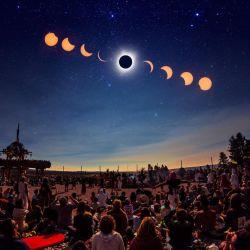 El eclipse total del 14 de diciembre se verá en todo el país y especialmente en la Patagonia.