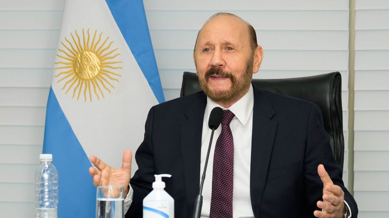 El gobernador de Formosa, Gildo Insfrán.