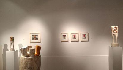 ARTE SIN ESPECTADORES. Las galerías de arte locales esperan ser habilitadas, aunque algunas están abriendo, tomando el protocolo de Comercio.