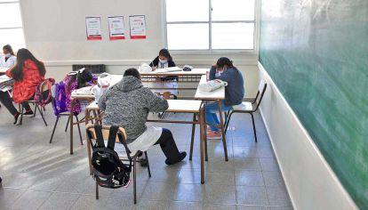 Presencial. En algunos distritos del país ya se volvió a las aulas, pero sin exámenes.