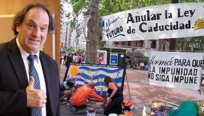 Libre. Es del partido del ex general Manini Ríos, lleno de nostálgicos de la dictadura, pero es un duro crítico de la ley de caducidad que impide juzgar a los represores.