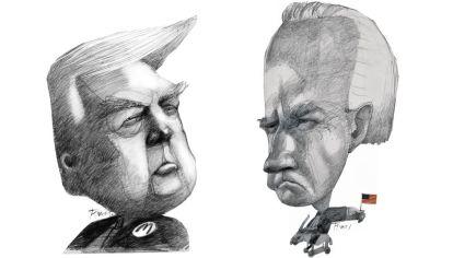 Donald Trump / Joe Biden.
