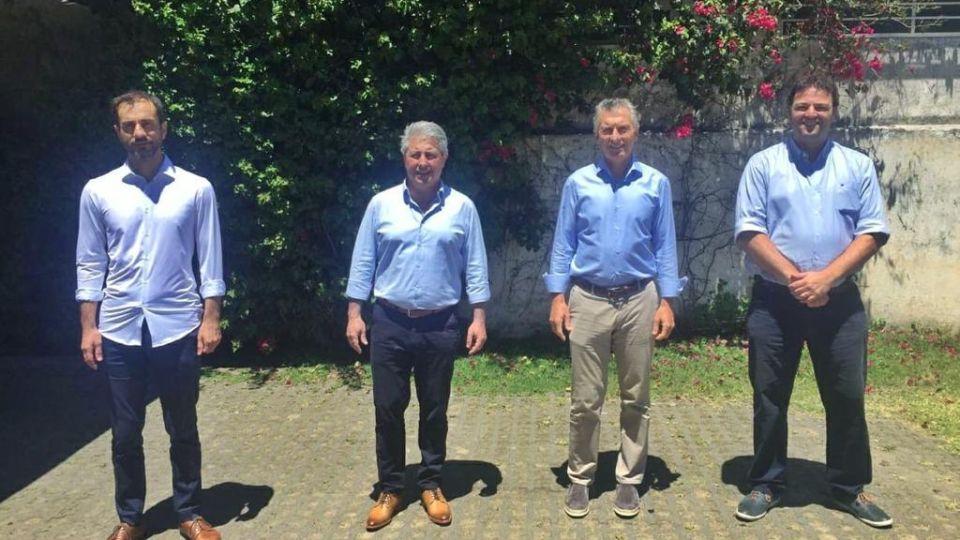 Macri con intendentes