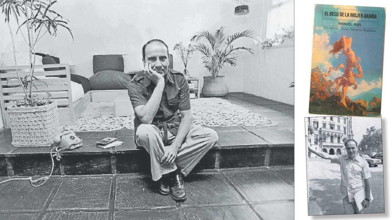 Figura. Juan Manuel Puig Delledonne nació en General Villegas, provincia de Buenos Aires, en 1932 y murió en Cuernavaca, México, en 1990.