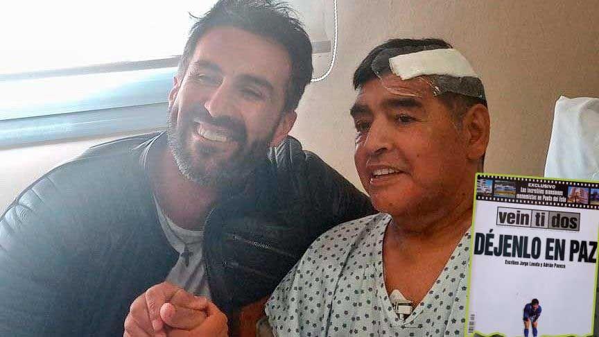 MORBO. Los años pasan, pero el acoso mediático sobre Maradona sigue.