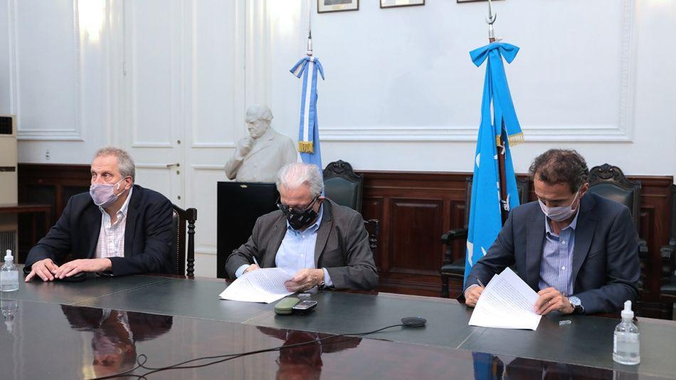 Plan de obras UBA - Ministerio de Obras Públicas