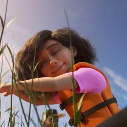 Lazos, un nuevo corto de Pixar que por primera vez tendrá una protagonista con autismo.