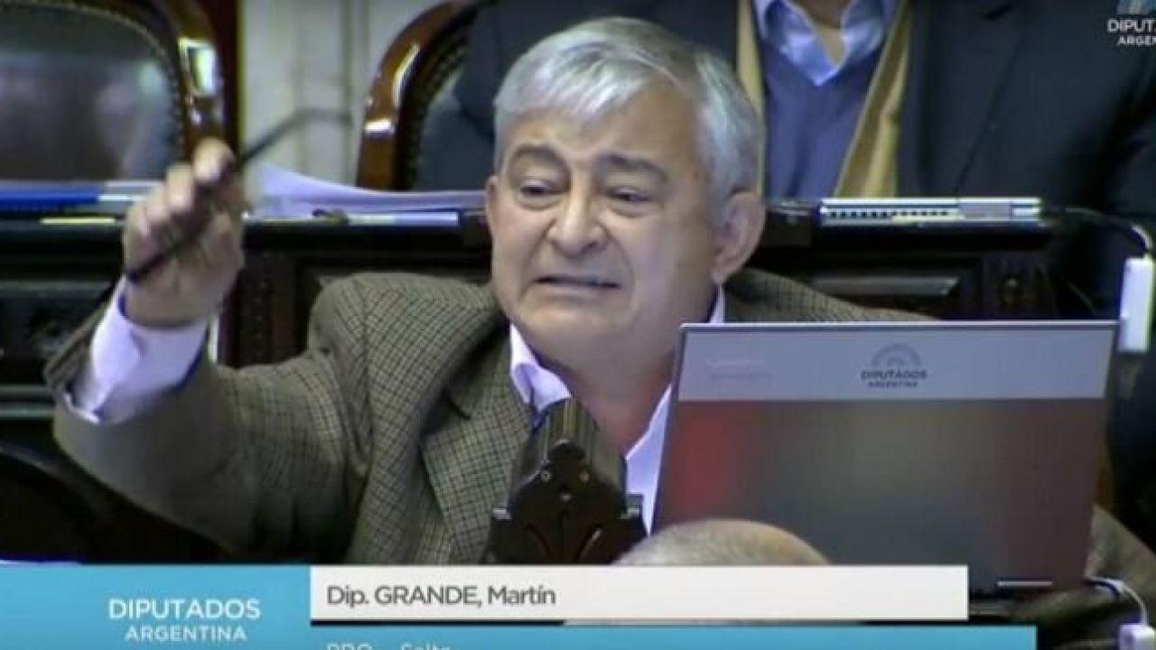 Diputado Martín Grande | Foto:Cedoc.