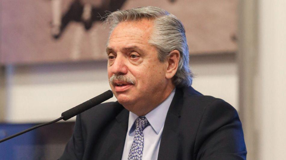 Alberto Fernández sobre vacuna COVID-19