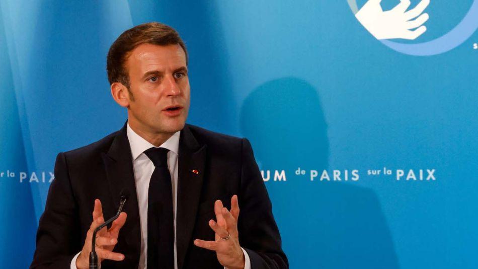 Macron dio una entrevista exclusiva a Le Grand Continent 20201116