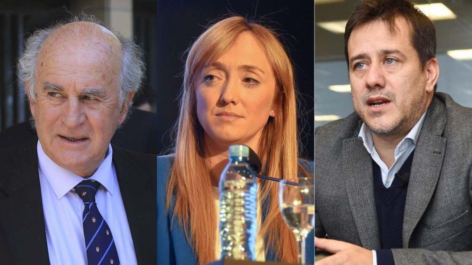Oscar Parrilli, Anabel Fernández Sagasti y Mariano Recalde 20201116