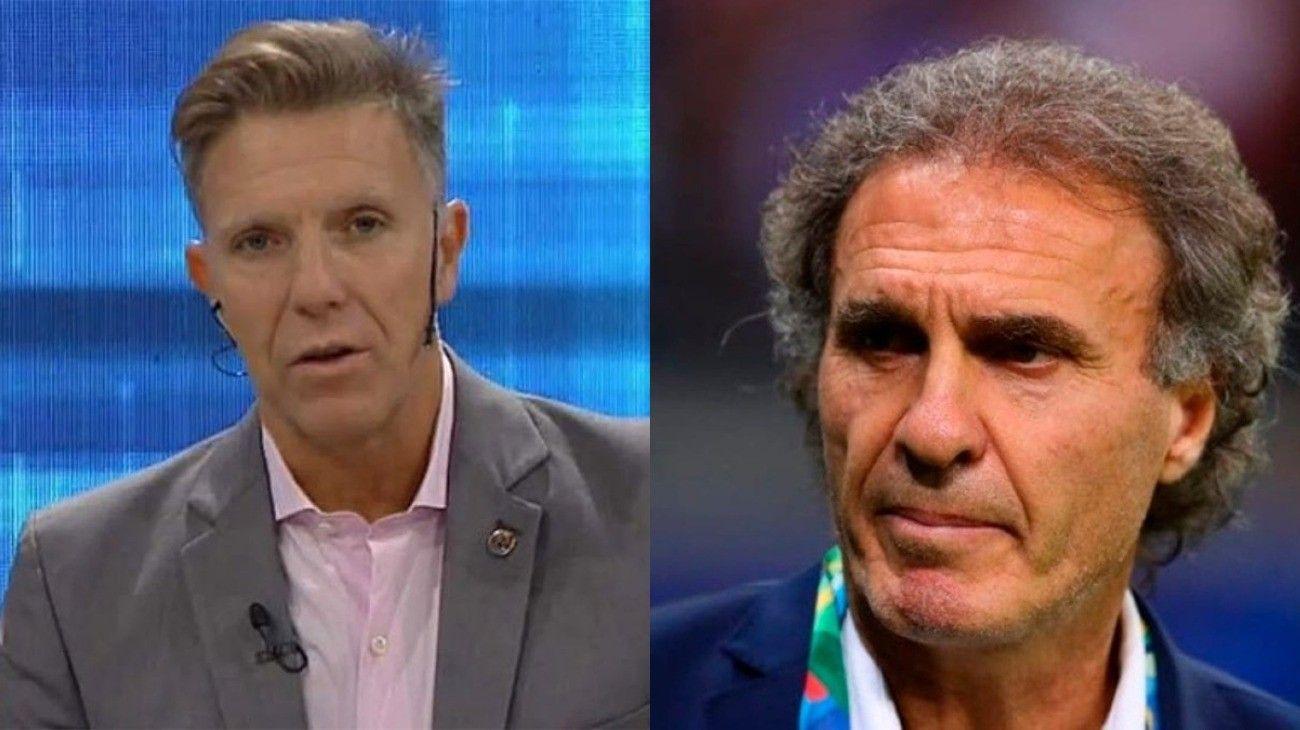 FANTINO Y RUGGERI DISCUTIERON EN ESPN POR LA PATADA DE TEVEZ A POCHETTINO.
