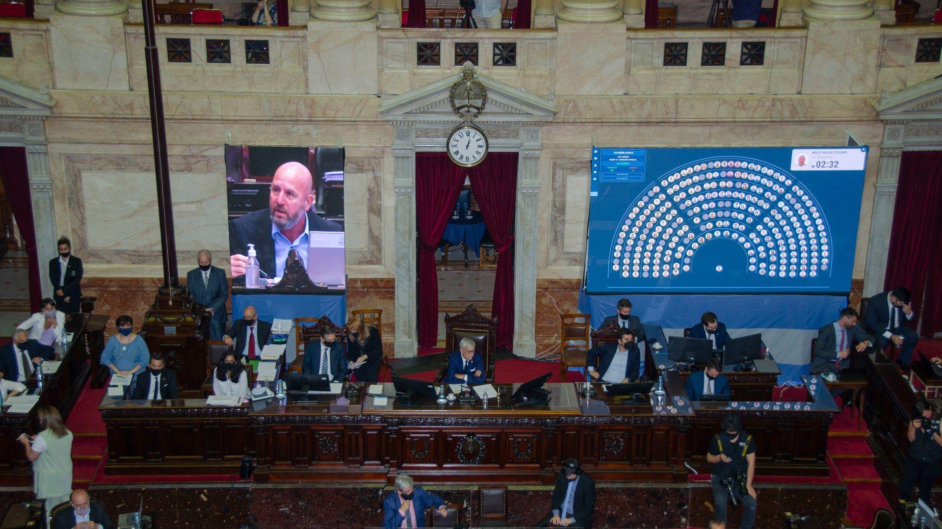 Diputados aprobó el presupuesto 2021 en trámite exprés.