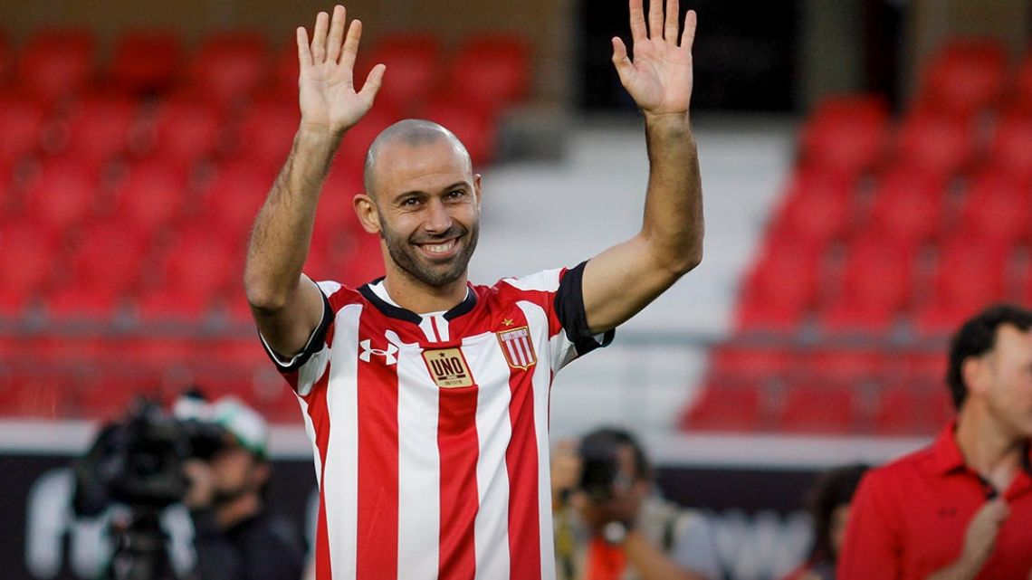 Javier Mascherano has decided to hang up his boots.