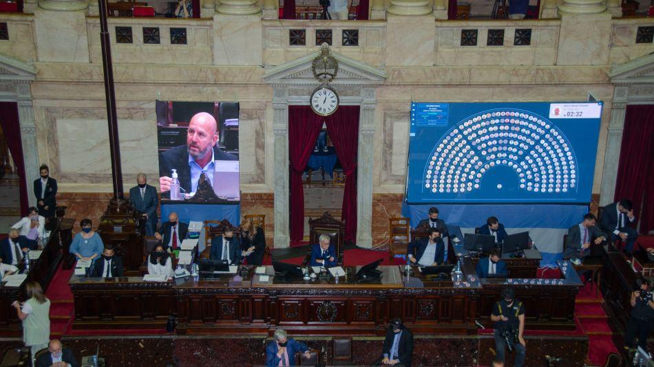Diputados aprobó el presupuesto (Télam)