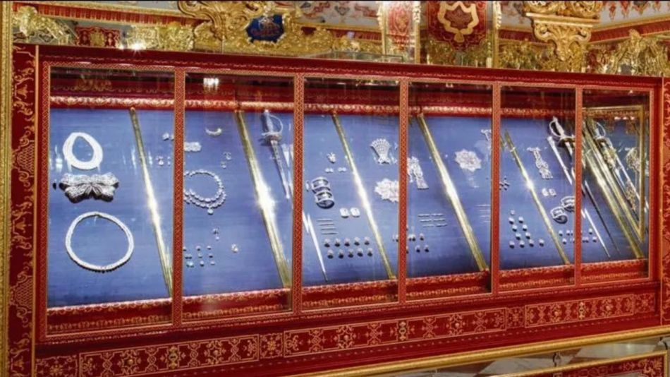 Robo de joyas en Bóveda Verde de Alemania