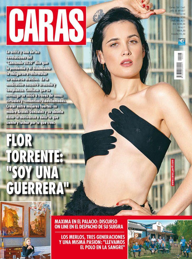 """Flor Torrente: """"Soy una guerrera"""""""