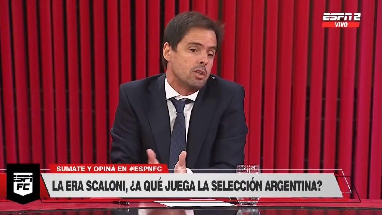 Mariano Closs dio su opinión sobre el rendimiento de la Selección de Scaloni.