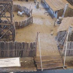 En 1776, el virrey Juan José de Vértiz y Salcedo ordenó la construcción de cinco fortines en la región.