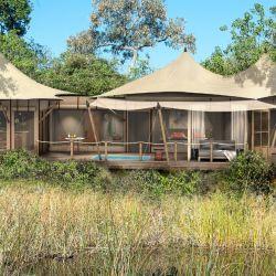 Wilderness Safaris DumaTau Camp (Reserva Linyanti, Botsuana).