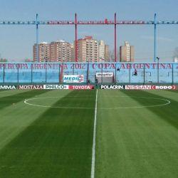 Así se ve el estadio de Arsenal Fútbol Club de Sarandí desde un dron