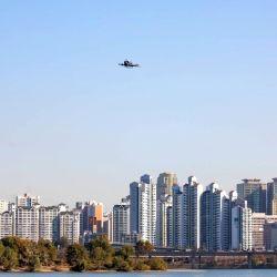 El vuelo tuvo lugar en un evento especial llamado Open the Urban Sky.