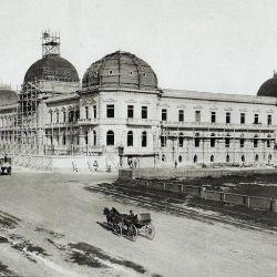 Construcción del Palacio de Justicia de La Plata