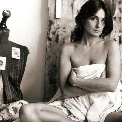 """La genial Liliana Maresca y su """"identidad multiforme"""" (la foto es de 1983)"""