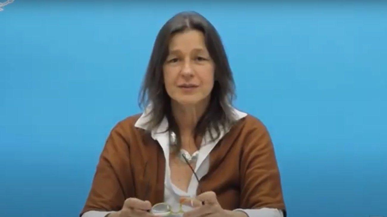 La ministra de Seguridad, Sabina Frederic, presentó un diagnóstico de la frontera norte.