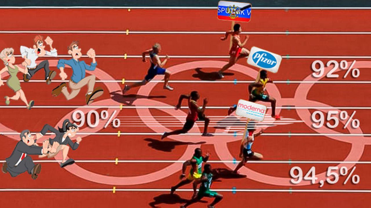 La carrera por quién anuncia mayor pocentaje de efectividad | Foto:Cedoc