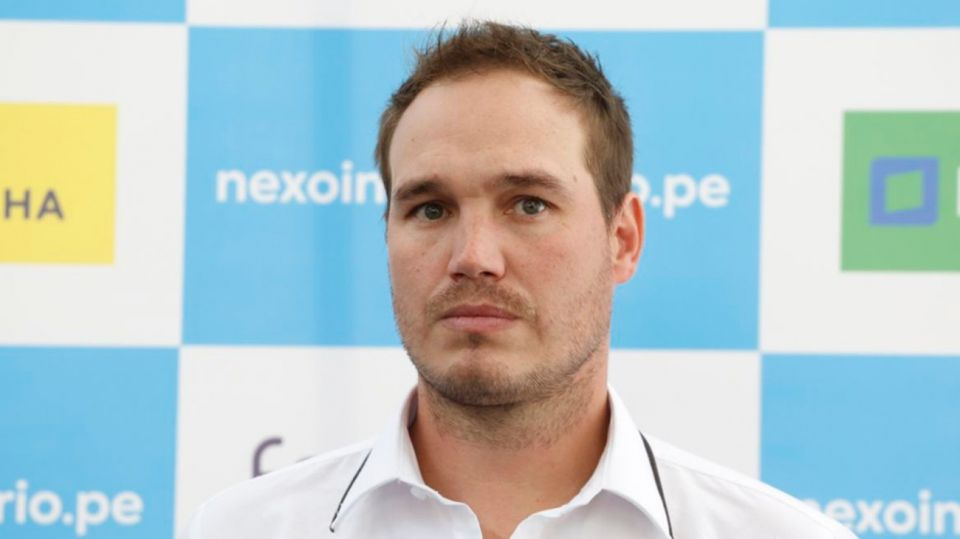 George Forsyth candidato en Perú