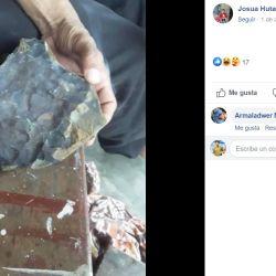 El valor de cada gramo de este meteorito es de 1.000 dólares.