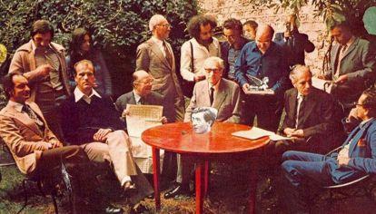 Histórica reunión de OuLiPo