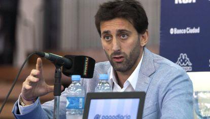 Diego Milito, secretario técnico de Racing. ¿Seguirá en el cargo? // NA