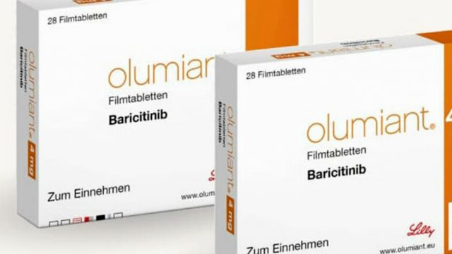 Olumiant, la presentación comercial de baricitinib. El antiartrítico de Lilly se aplicará junto al remdesivir a pacientes con coronavirus en EE.UU..