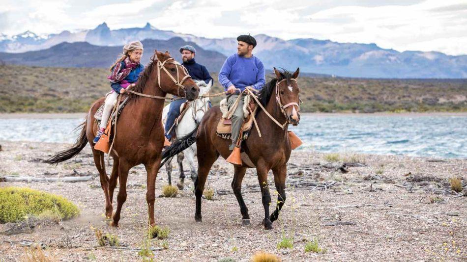 Cabalgatas, un mix de aventura y tranquilidad en el Parque Patagonia