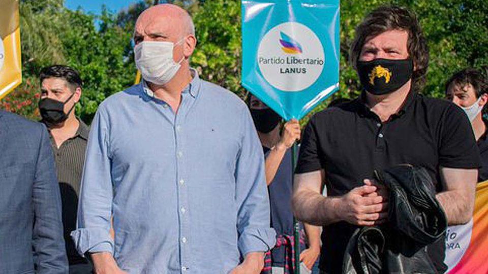 Javier Milei y José Luis Espert buscan crecer como opción en 2021 y preocupan a Juntos por el Cambio.