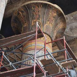 Entre los logros obtenidos, los arqueólogos pudieron recuperar los colores originales.