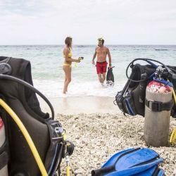 Curazao cuenta con más de 70 puntos para bucear, de los cuales más de la mitad se pueden acceder desde la costa.