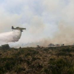 Aviones para combatir los incendios